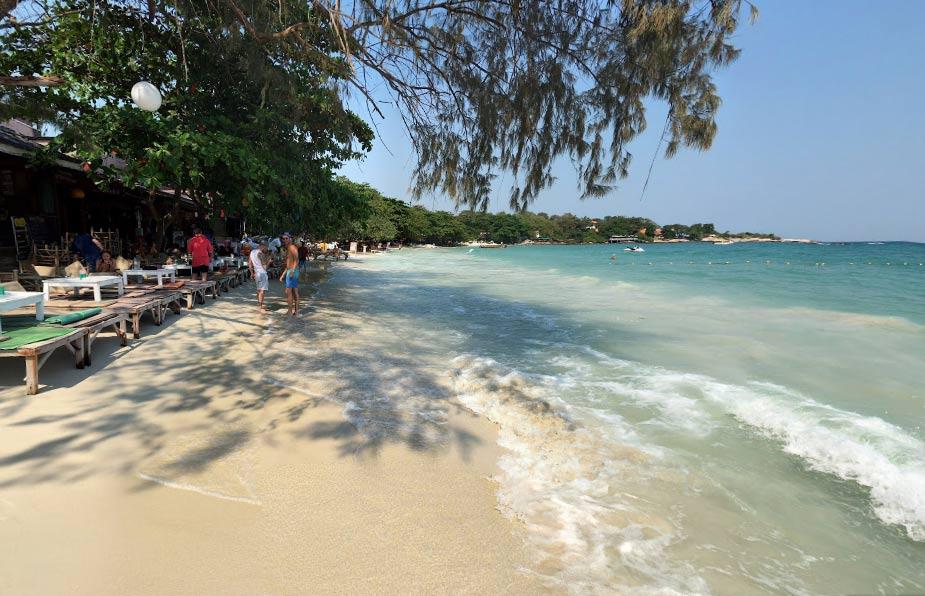 пляж вонг дуен ко самет