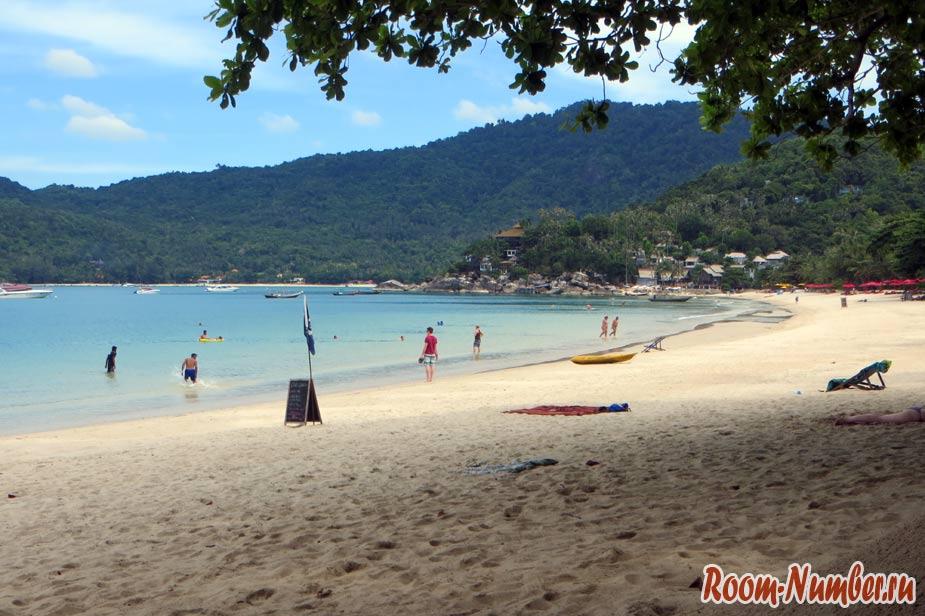 Пляж Тонг Най Пан Ной на Пангане. Обзор пляжа и наши отзывы о тихом уютном местечке