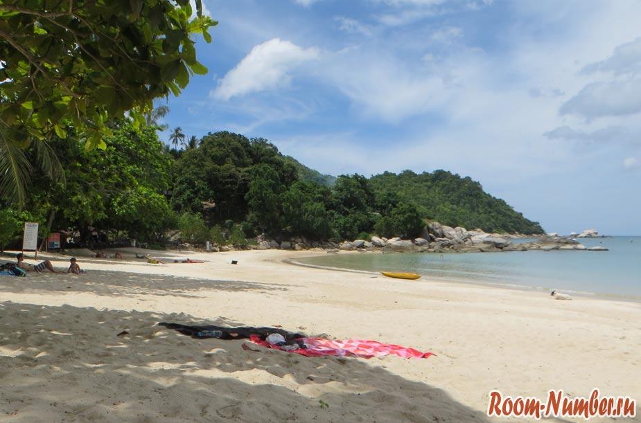 Пляж Тонг Най Пан Ной на Пангане
