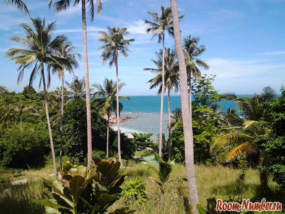Пляж Ao Thian, Панган — безлюдный и всего с одним отелем