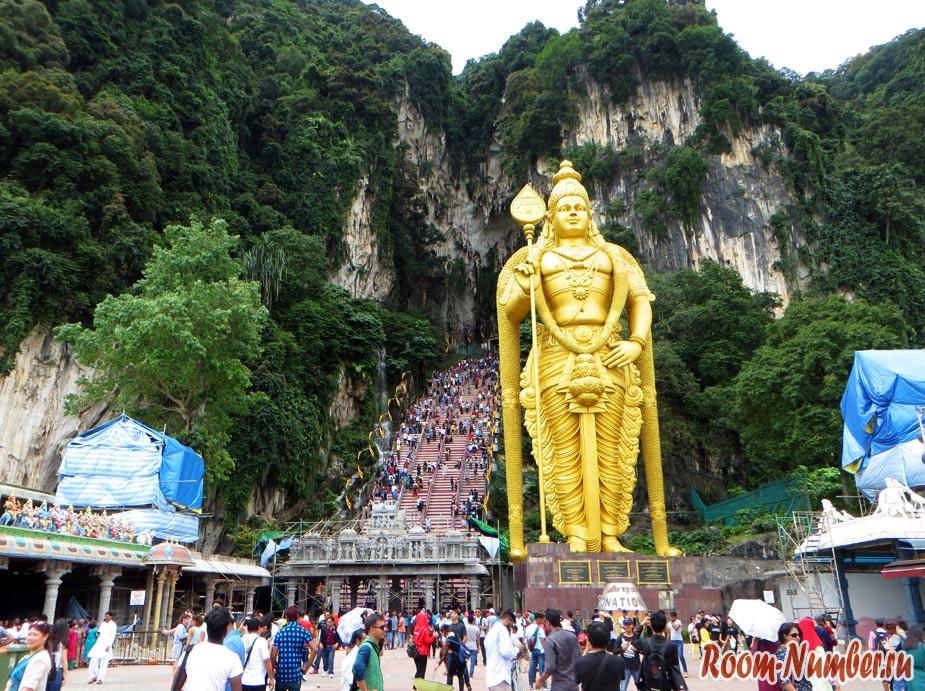 Пещеры Бату в Куала-Лумпур. Batu Caves обязательны к посещению или можно пропустить?