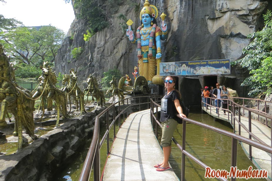 batu caves пещеры в куала лумпуре
