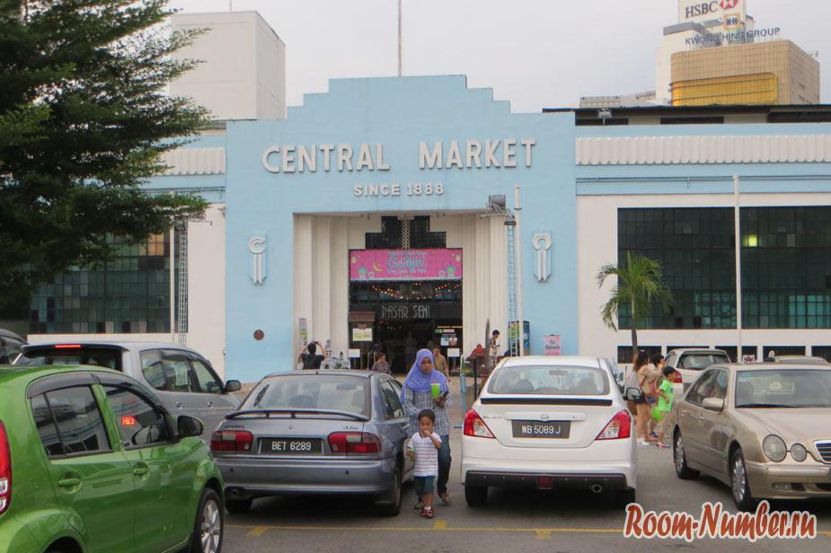 Рынок в Куала-Лумпур 1888 года или где купить сувениры в KL