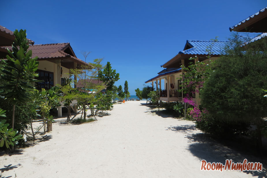 Наш отель на Шритану The Beach Bungalow — лучше и выгоднее варианта на Sri Thanu не найти