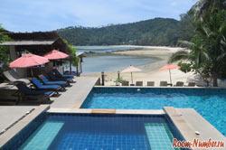 отели на пангане с бассейном