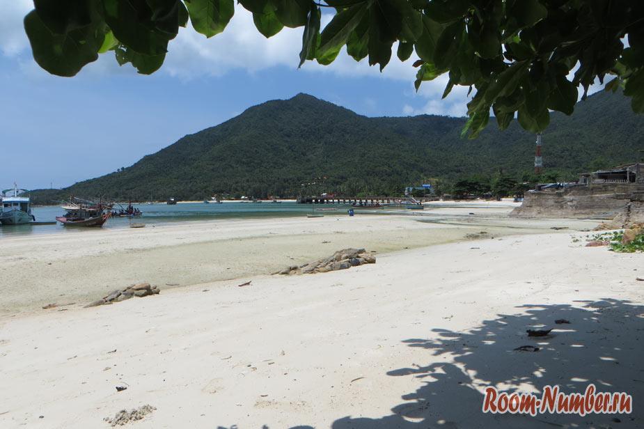 Пляж Чалоклам. Наше маленькое открытие на Пангане