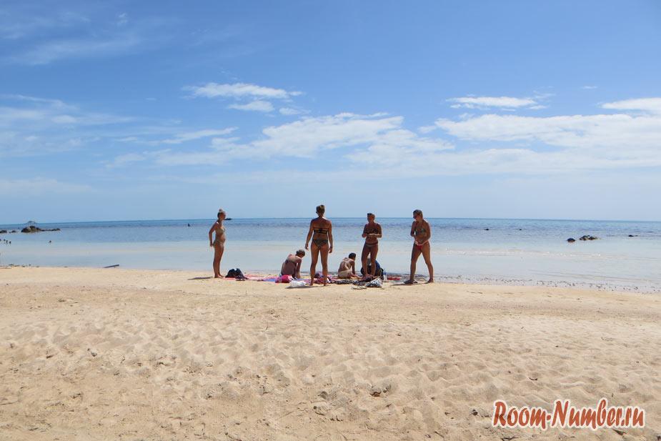 Пляж Хад Сан Пханган Secret beach