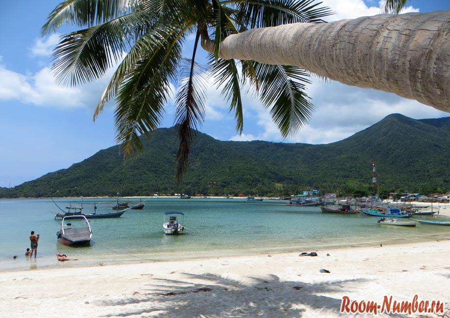 Пляжи Ко Панган. Все пляжи Пхангана с отелями и точками на карте