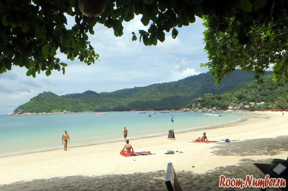 пляжи пангана тонг най пан ной