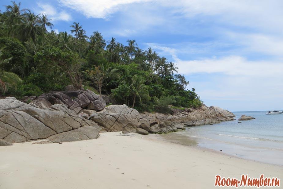 пляж на пангане боттл бич