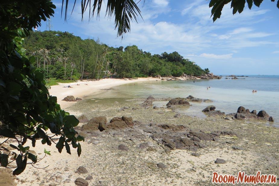 пляжи кох пхангана хаад сон или секретный пляж