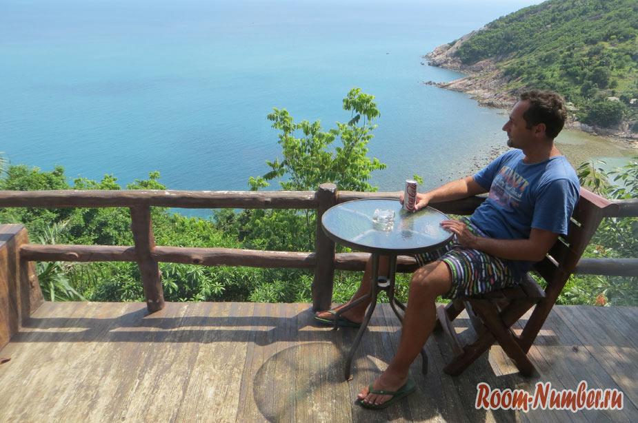 Phangan Utopia Resort – наш отель с видом на миллион на Мае Хааде
