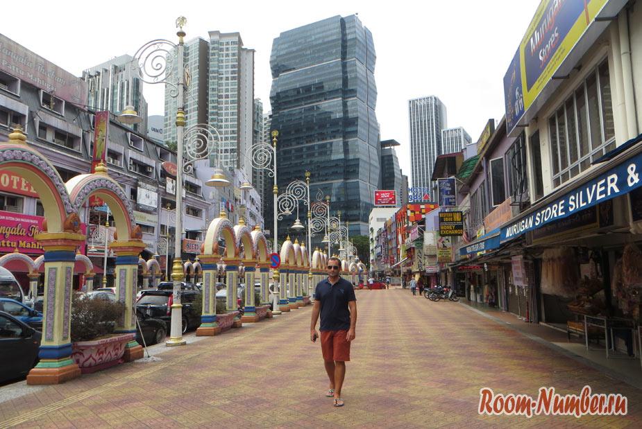 индийский квартал в куала лумпуре в малайзии