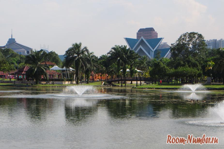 Парк Taman Tasik Titiwangsa — нетуристическое место в Куала-Лумпур