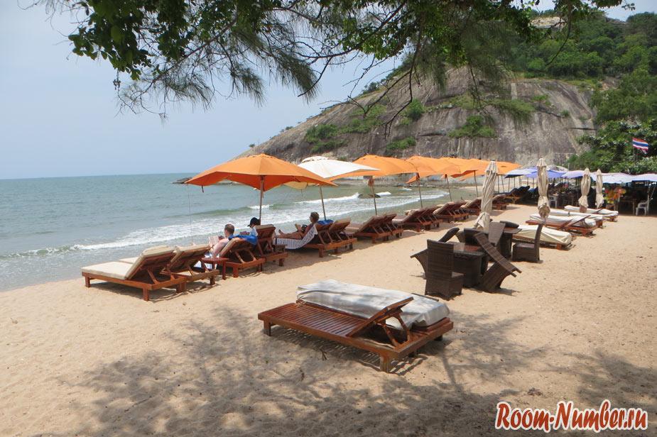 Пляж Сай Ной Хуа Хин