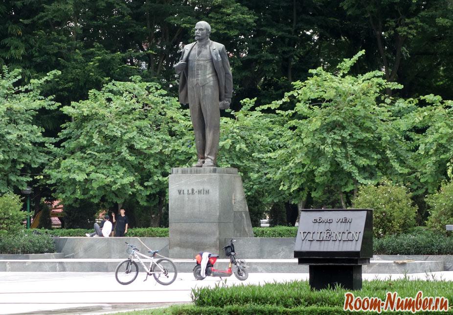 Памятник Ленину в Ханое, русские продукты и другие напоминания о Родине в северном Вьетнаме