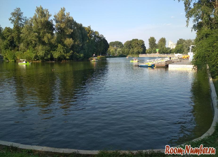 голицинский пруд парк горького
