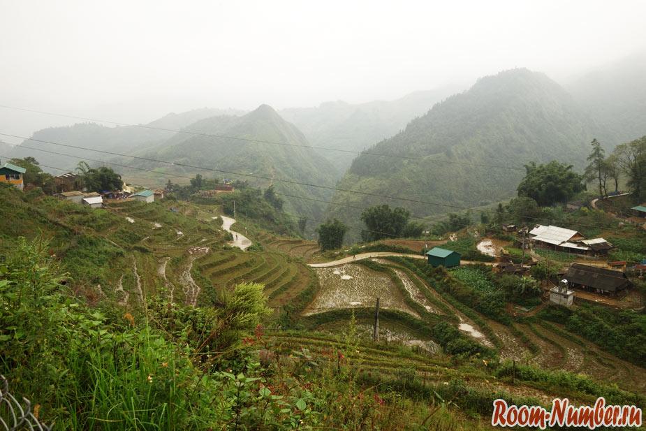 Сапа, Вьетнам. Город в облаках на границе с Китаем