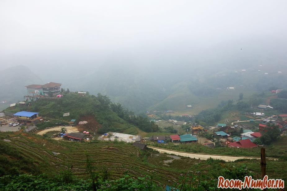 Сапа Вьетнам фото гор в облачную погоду и туман