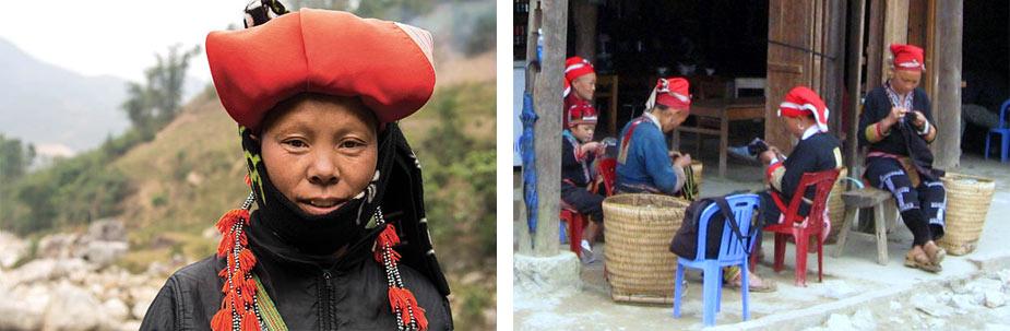 люди племени красные дао в сапе
