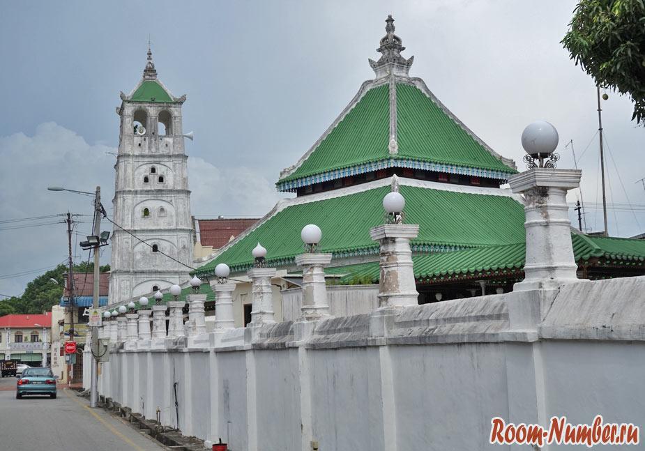 кампунг клинг мечеть мелака