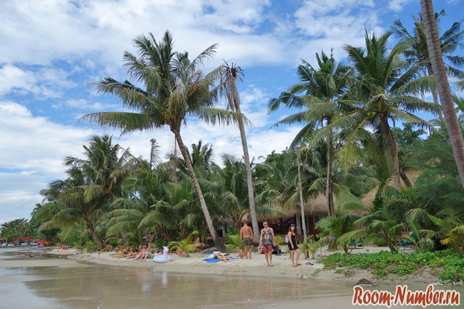 Пляж Кай Бэй, Ко Чанг. Экзотический пляж в середине острова