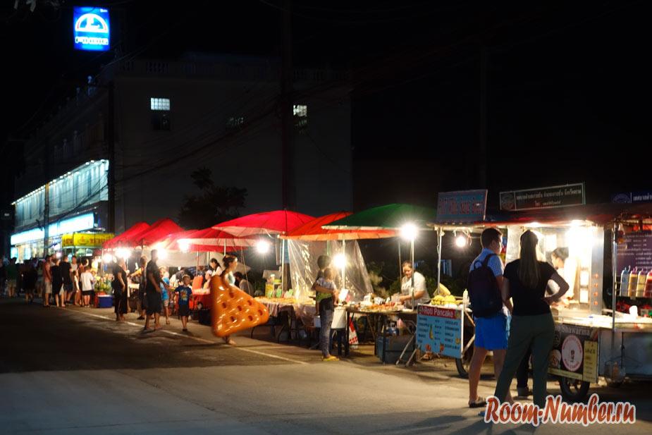 Ночной рынок на Ко Чанге. Где дешево поесть на Чанге