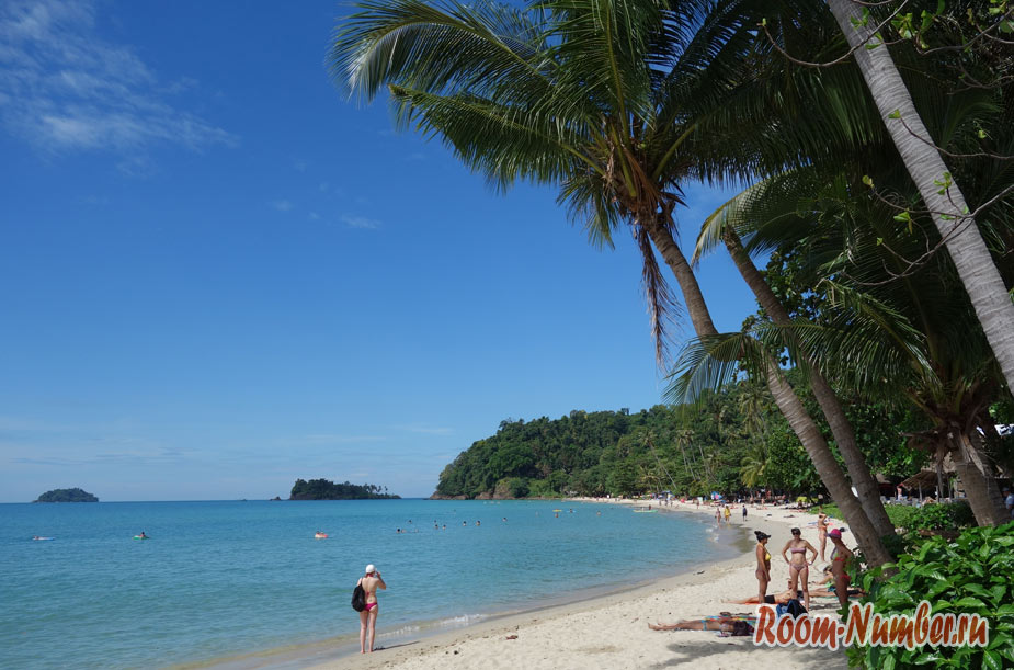 Лонли бич – самый лучший пляж на Ко Чанге
