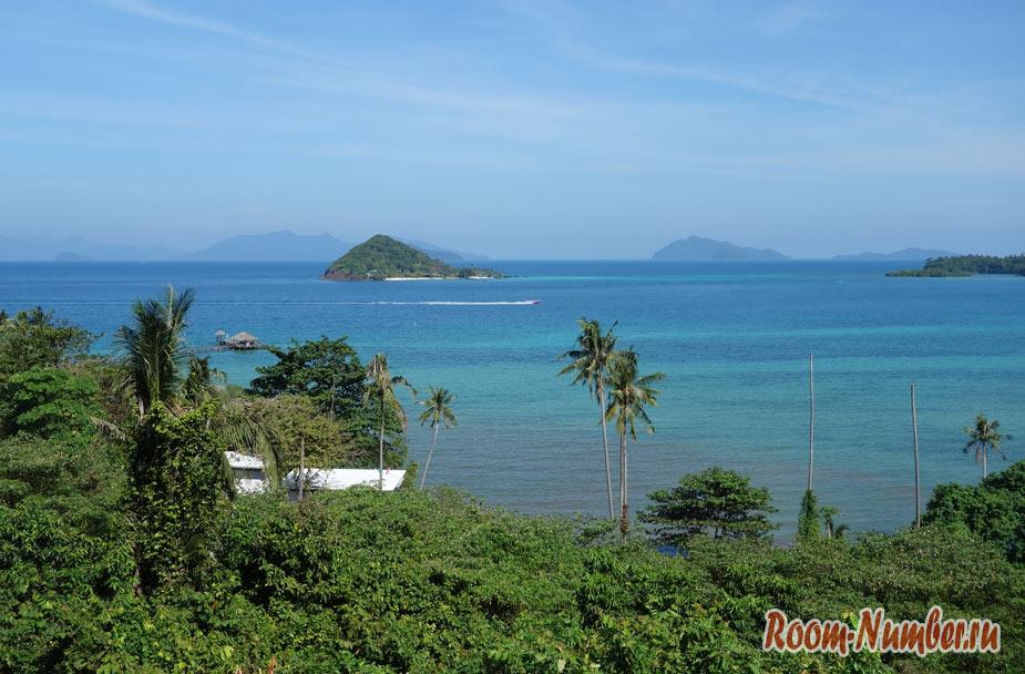 Смотровая площадка на Ко Маке в отеле Thaidaho Vista Resort