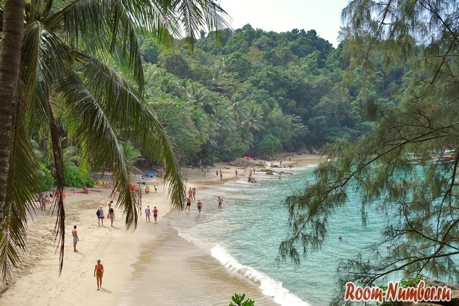 Пляж Банана на Пхукете и секретное место для пикника