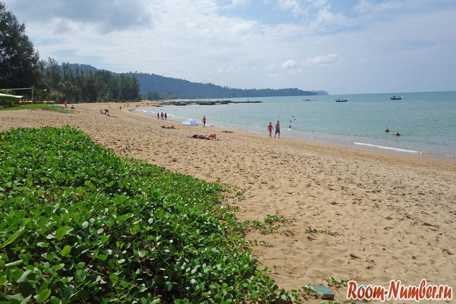 пляжи као лака банг нианг бич