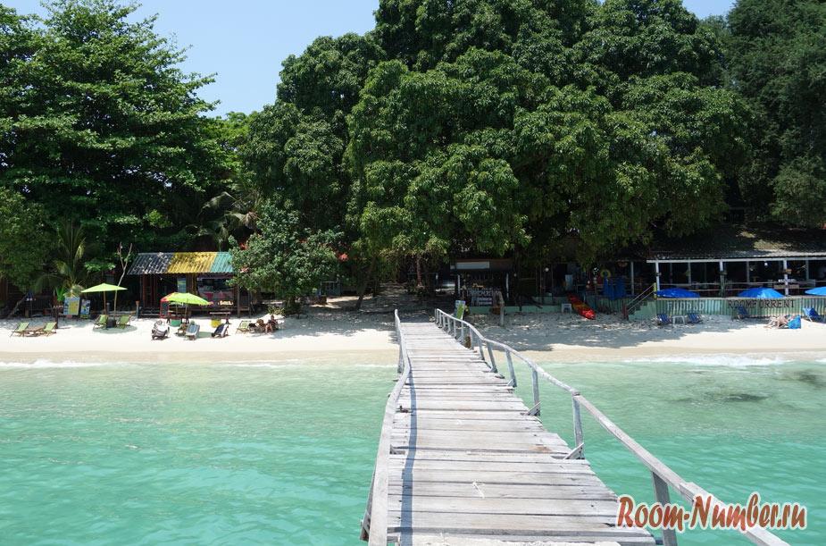 Пляж Ао Чо на Ко Самет — там, где голубая вода, прозрачное море и белоснежный песок