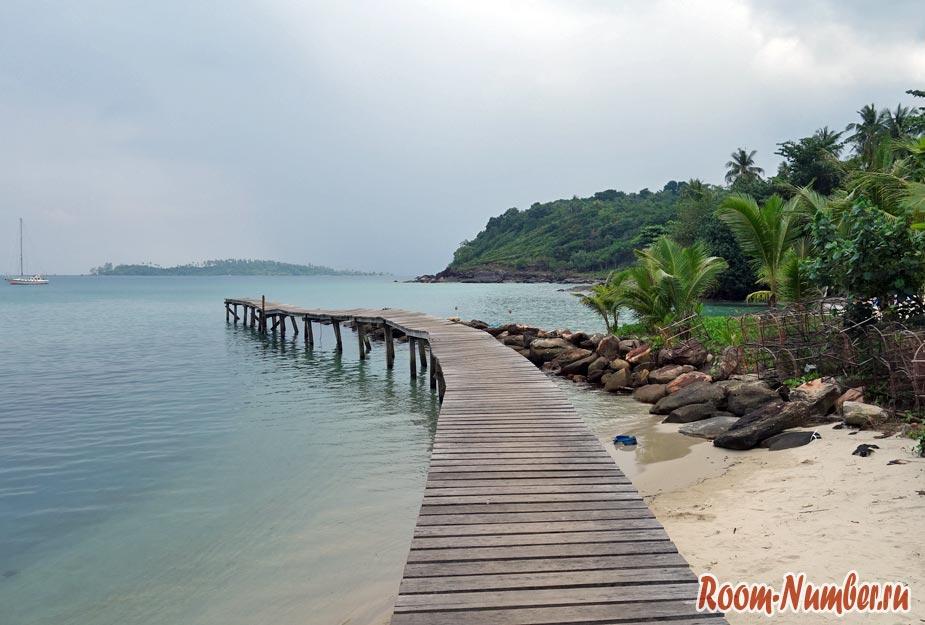 Khlong Mat. Пляж отеля Suanya Koh Kood Resort
