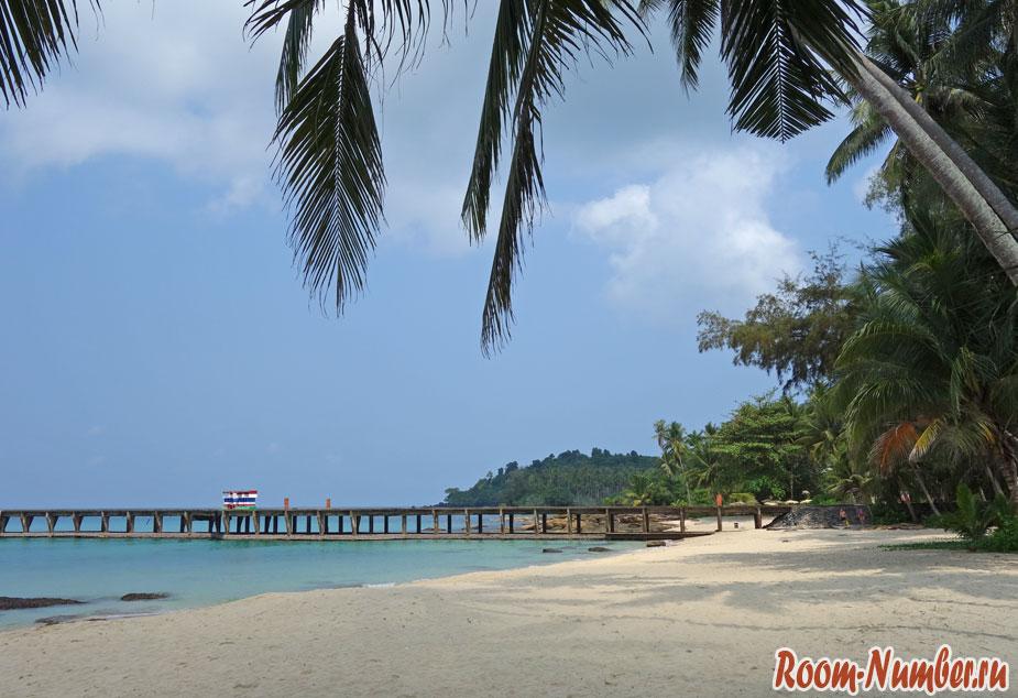 Пляж Ao Tapao на Ко Куде. Пляж отелей Paradise Beach, Seafar Resort и Medee