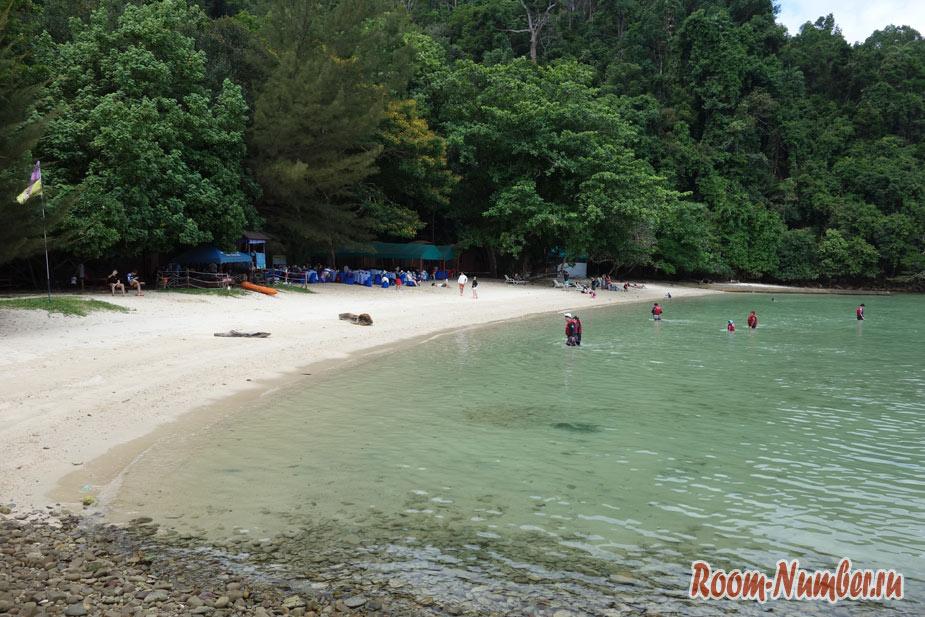 Остров Гайя. Самый большой остров возле Кота Кинабалу