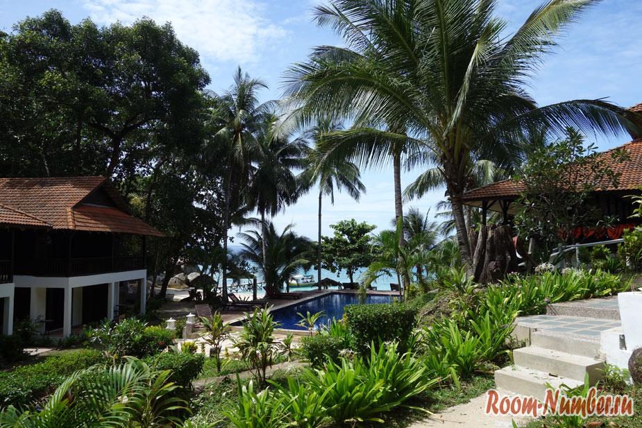 Отель D'Coconut Lagoon на Ланг Тенгах. Спланируйте идеальный отдых на острове