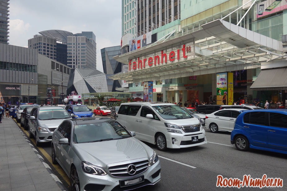 Kuala Lumpur центр города