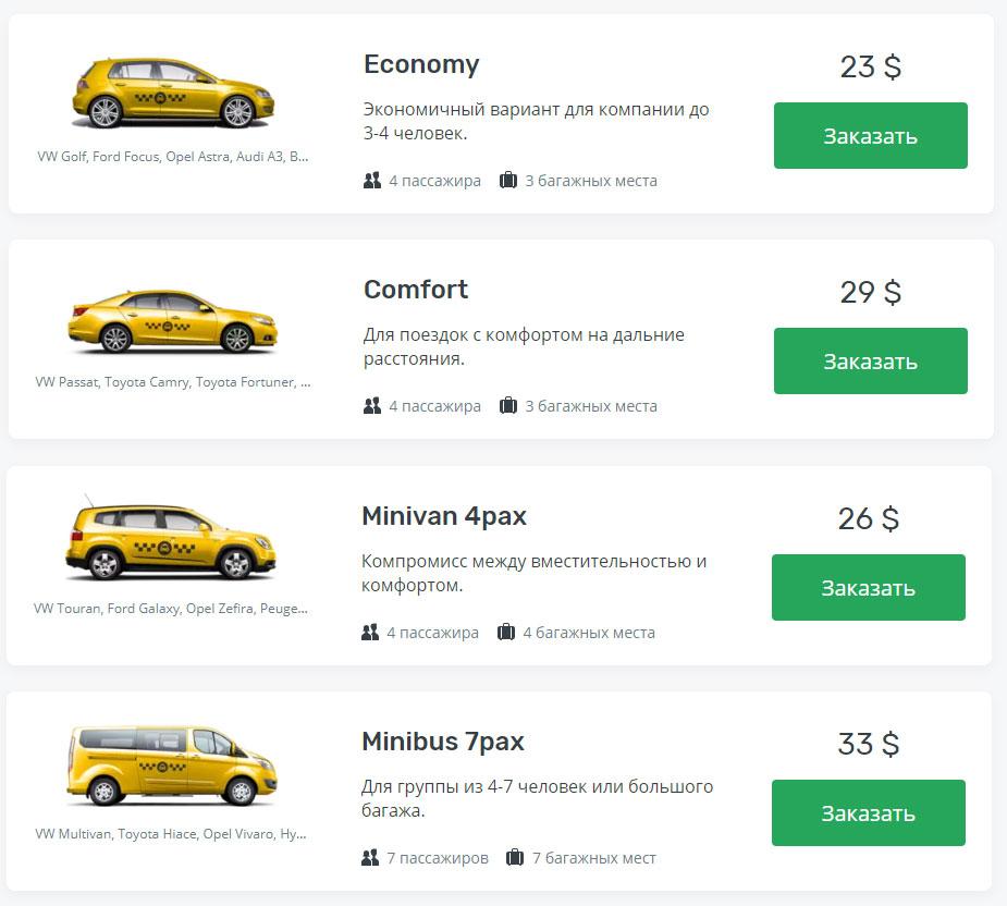 такси негомбо аэропорт