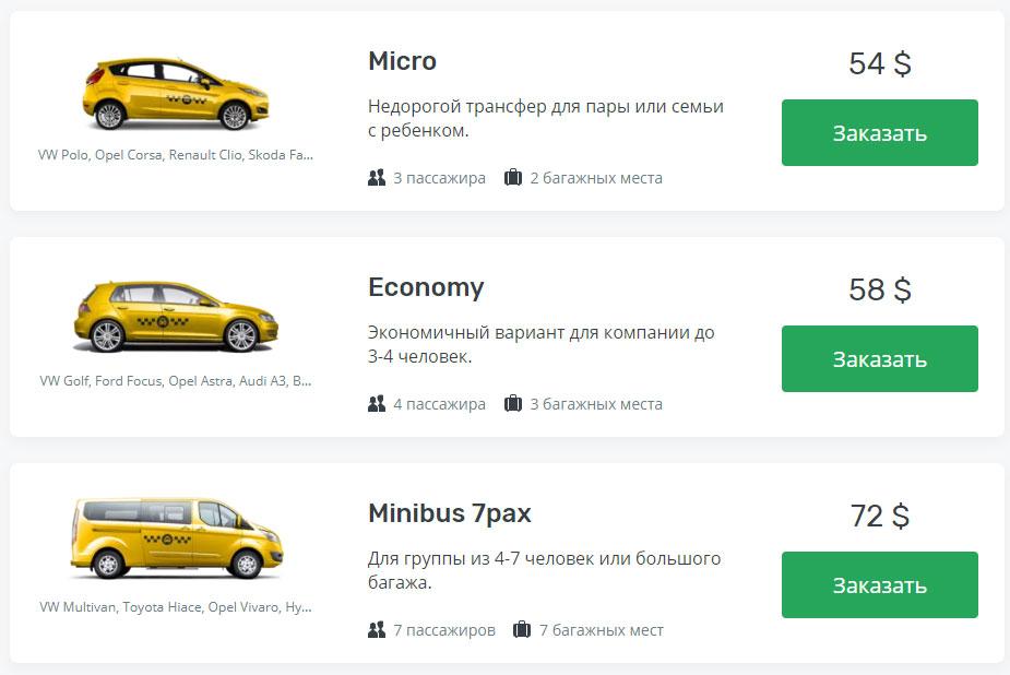 такси Ваддува аэропорт Коломбо