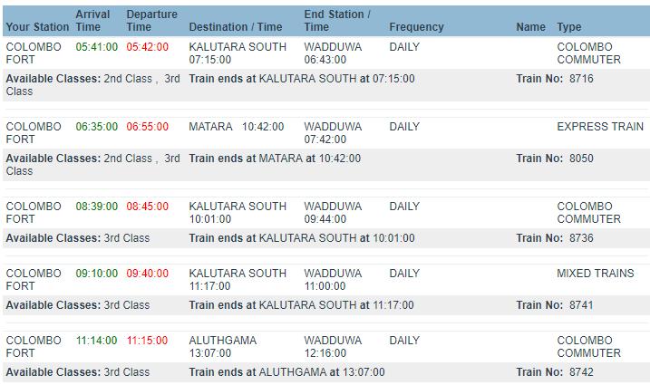 wadduwa-train