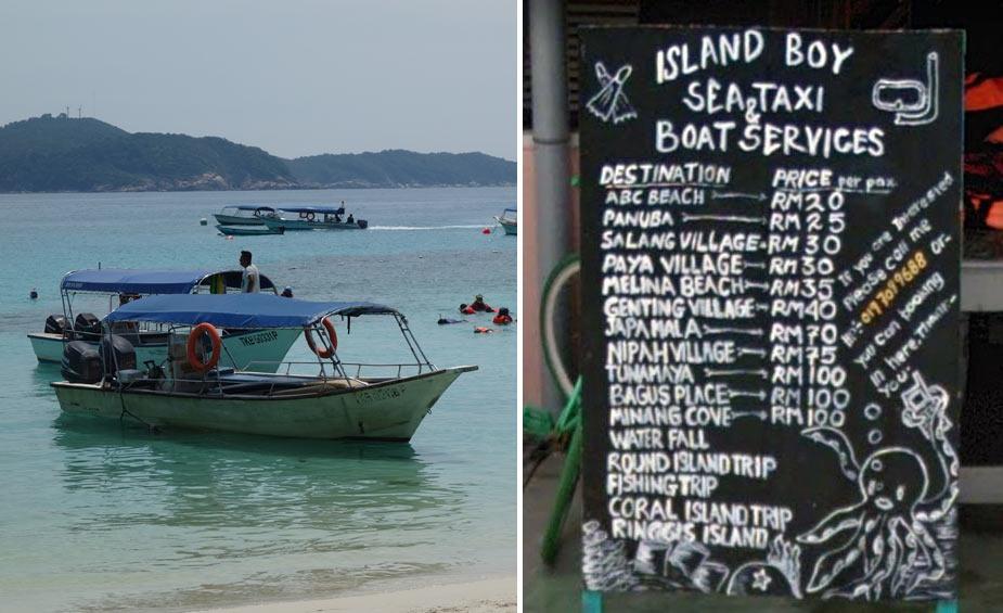 boat-taxi-tioman