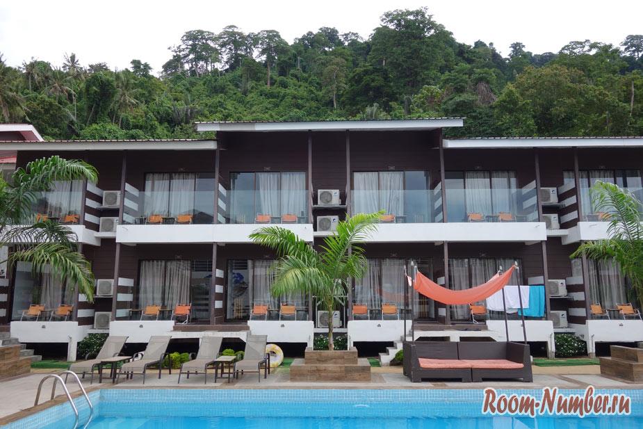 Наш отель The Barat Tioman Beach Resort на лучшем пляже Тиомана Джуара бич