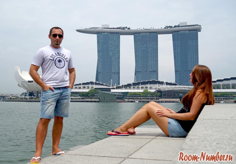 Слава и Катя блог room-number.ru в Сингапуре