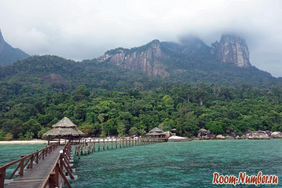 Тиоман — самый красивый остров в Малайзии