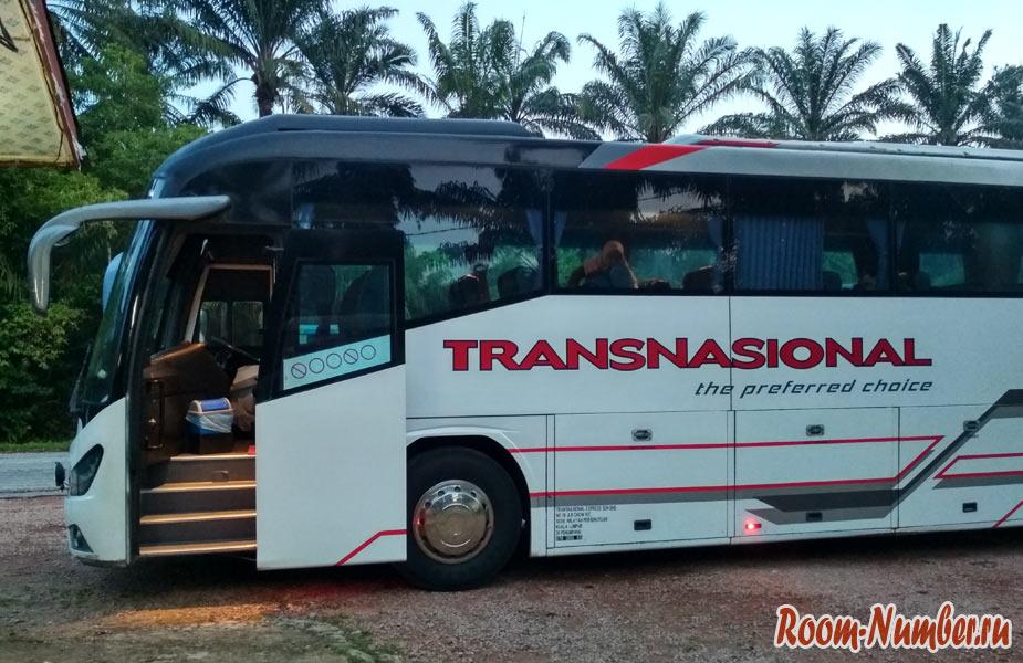 Автобус на Тиоман из Куала Лумпур Transnational