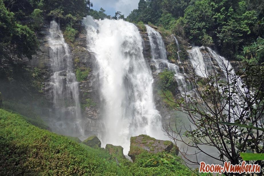 Нацпарк Doi Inthanon. Лучшие водопады и самая высокая гора в Таиланде