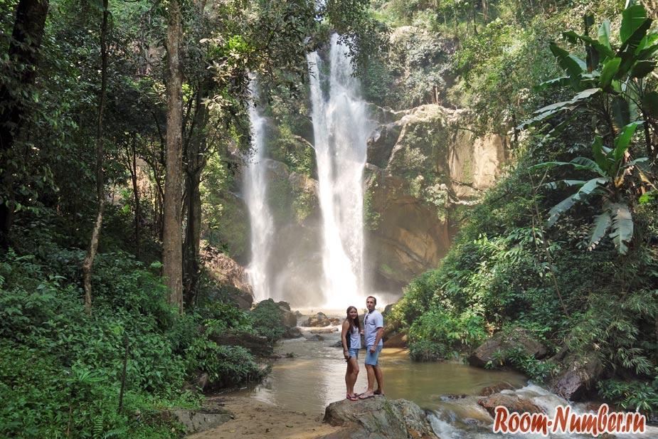 Водопад Mork Fa в провинции Чианг Май