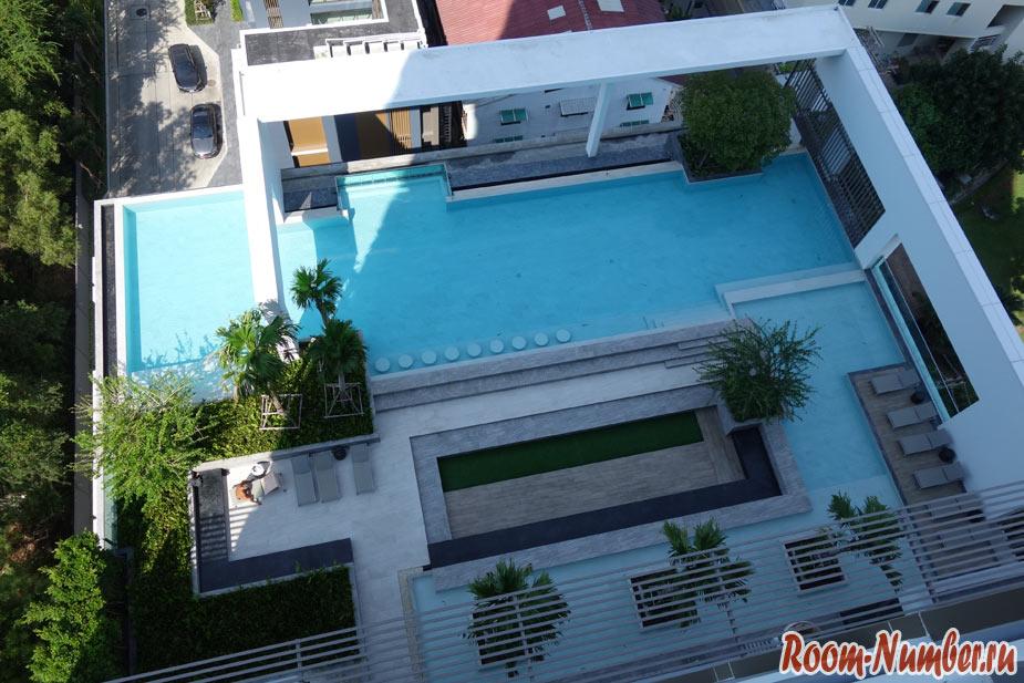 балкон в aeras