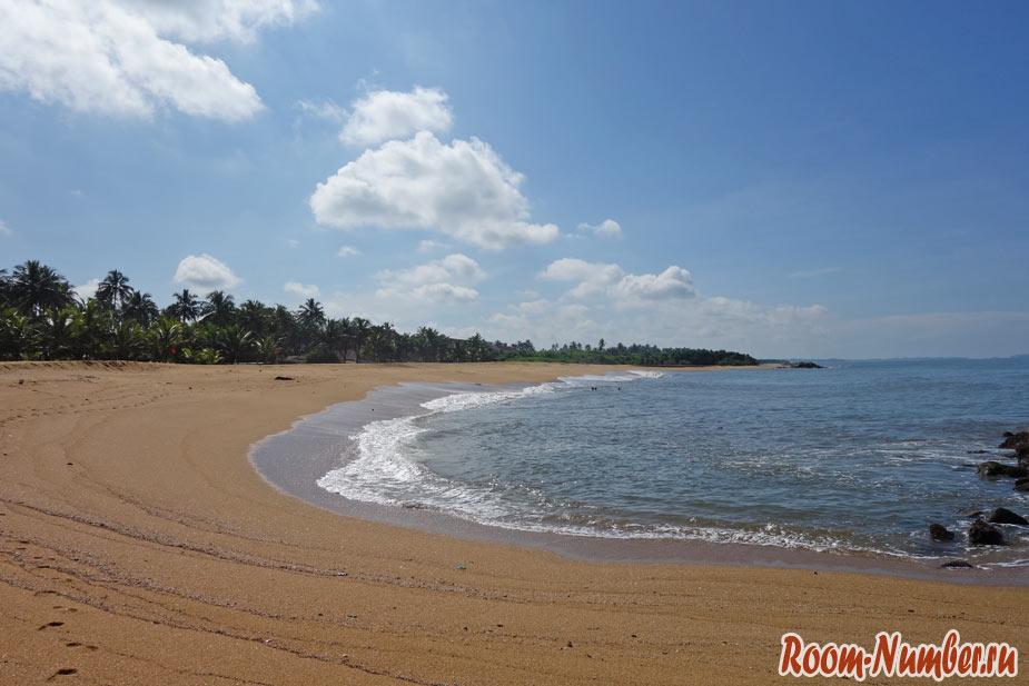 Калутара, Шри Ланка. Отели и фото пляжа Kalutara beach