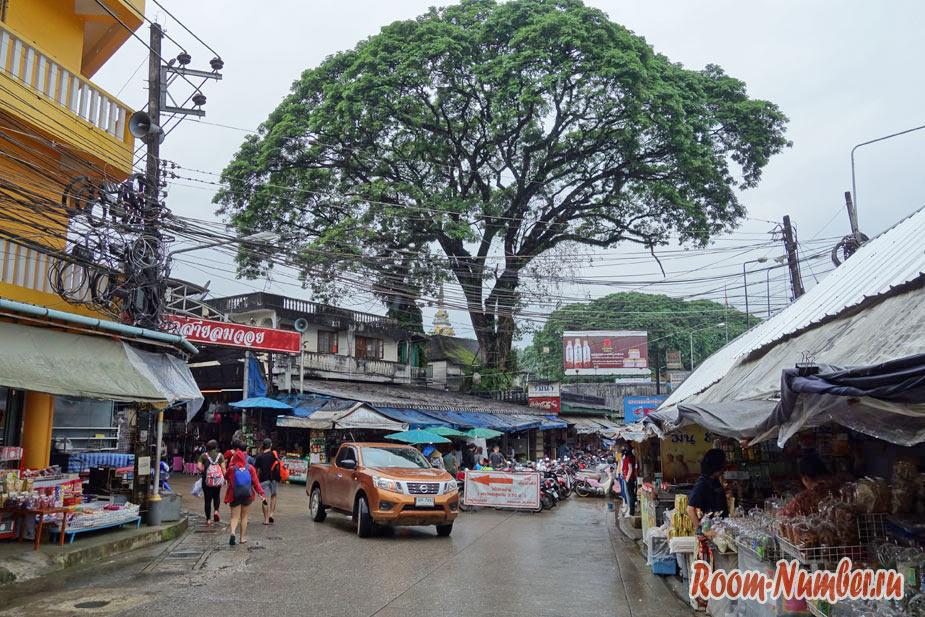 Мае Сай. Самый северный город Таиланда на границе с Бирмой
